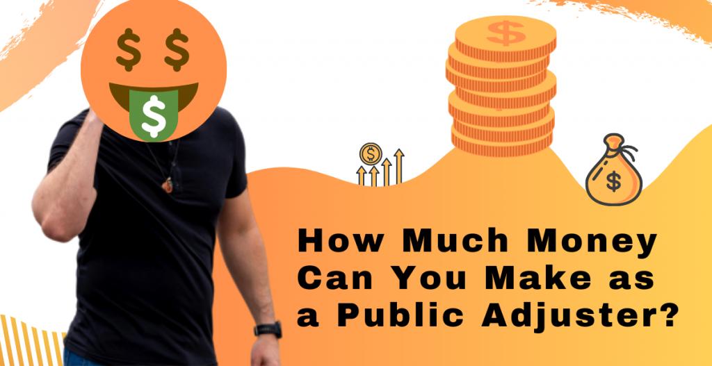 public adjuster money