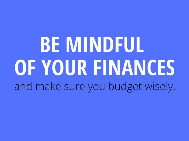 mindful finances