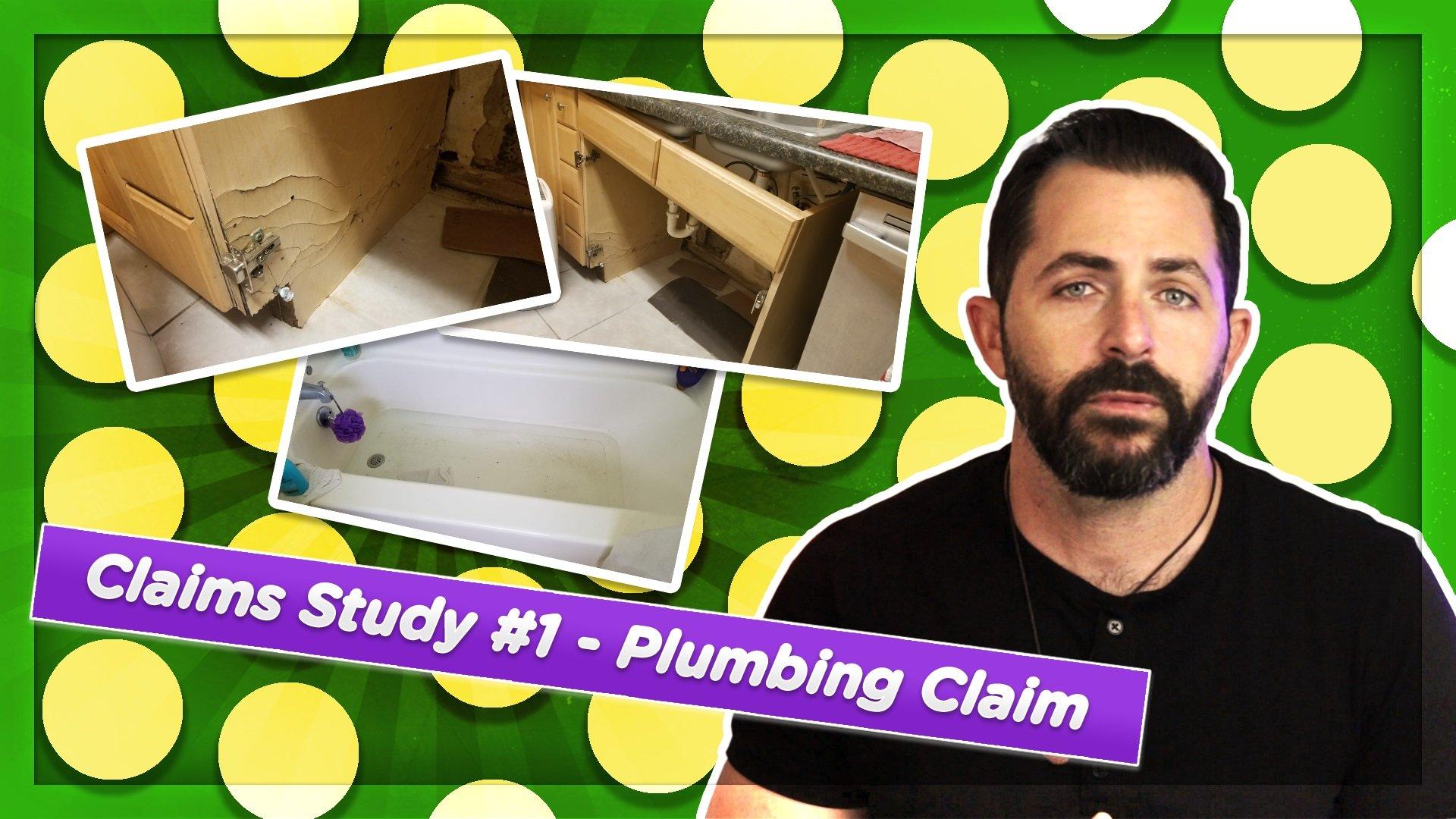 plumbing claim