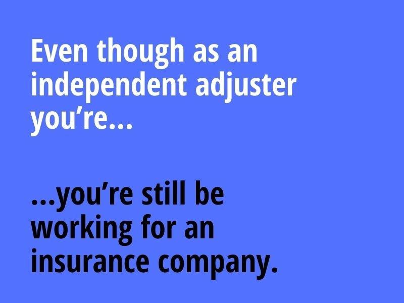 independent adjuster vs public adjuster