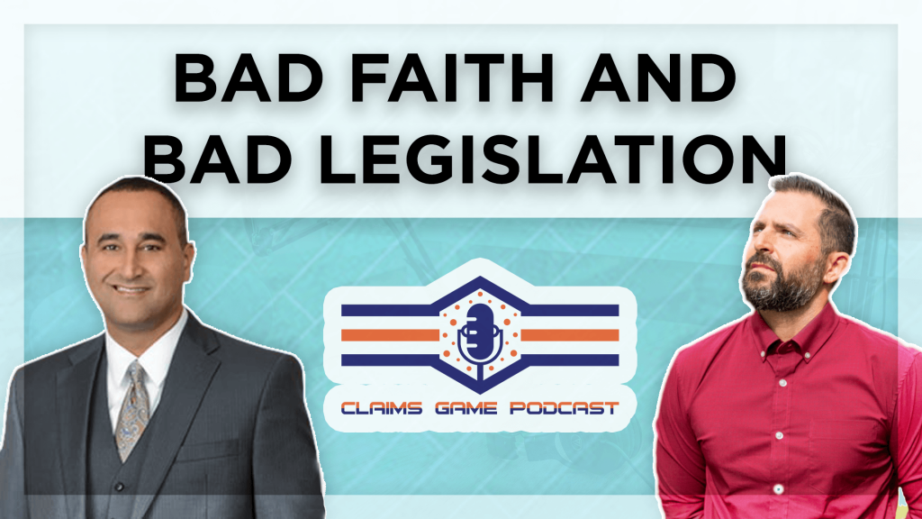 Bad Faith And Bad Legislation